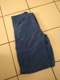 Shorts masculino azul