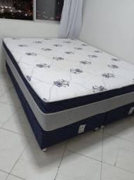 Vendo cama Box casal tam Queen