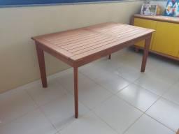 Mesa madeira maciça tramontina