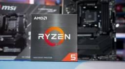 Processador AMD Ryzen 5 5600X 3.7GHz (4.6GHz Max Turbo)