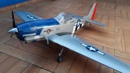 Aeromodelo Mustang P-51