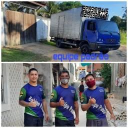 Frete caminhão mudança sábado barato