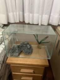 Vendo aquário 40L
