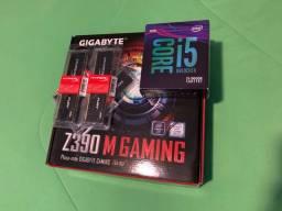 Kit i5-9600K Z390-M Gaming 32GB RAM