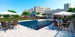 *JD More em Fragoso, com 2 qts, piscina, todo lazer e conforto para sua família.