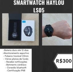 Smartwatch Haylou Solar PROMOÇÃO