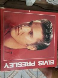 Coletânea 5 discos vinil Elvis Presley