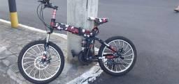 Vendo bicicleta toyou dobravel aro 20 importada da koreia