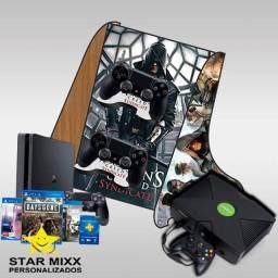 Suporte para controles videogame PS4/XBOX ONE em MDF