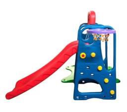 Playground Completo Criança Feliz 3 em 1