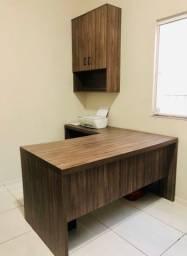 Mesa em L com Atmario para escritórios