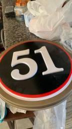 Letreiro para decoração 51 com 45cm