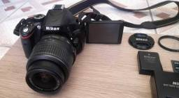 Nikon D5100 Dslr Cor Preto 18 K De Cliques!!