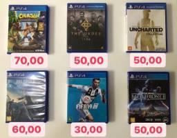 Jogos PS4 - Zona Sul RJ