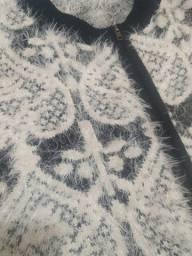 Blusa de tricot, casaco