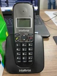 Telefone sem fio Intelbras TS 5120 praticamente novo pouco usado