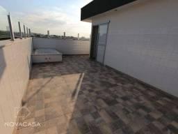 Cobertura com 3 dormitórios à venda, 129 m² por R$ 570.000,00 - Candelária - Belo Horizont