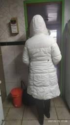 Jaqueta branca P nova.
