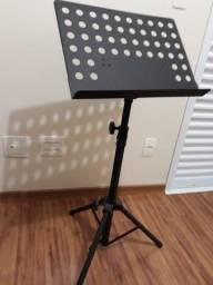 suporte partitura metálico