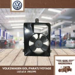 Eletroventilador Ventoinha Volkswagen Gol/Parati/Voyage 1983/1995