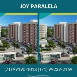 Apartamento de 2 e 3 quartos, com Suíte e Varanda- Joy Paralela! Autêntico