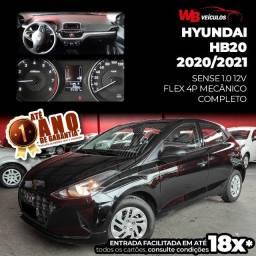 Hyundai HB20 Sense 1.0 12v 2020/2021 - Vendo, Troco e Financio