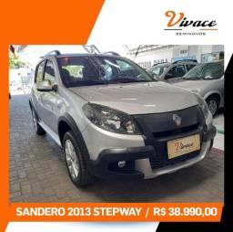 Sandero Stepway 1.6 - 2013 Completo