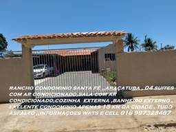 rancho condominio santa fé  araçatuba  15 km da cidada