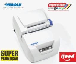 Impressora Não Fiscal Hibrida Diebold IM453H Com Guilhotina