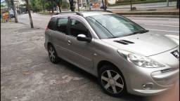Peugeot 207 sw xrs- 2012/2013 - gnv - completo