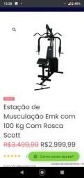 Estação de musculação 100kg kenkorp