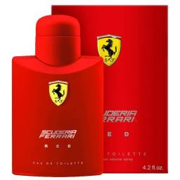 Perfume Ferrari Red Eau de Toilette 125ml