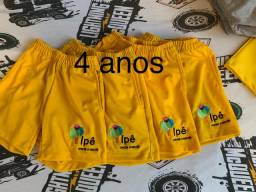 Shorts Uniforme Ipê
