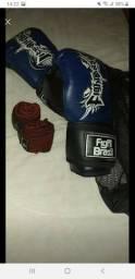 Luva de boxe fight Brasil + par de bandagens