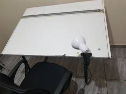 Mesa de desenho 120cm x 90cm a0 a1 a2 a3