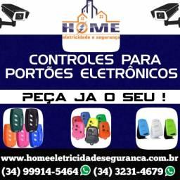 Controles p/a Portões e Alarmes *