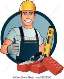 Pedreiro e ajudande disponível
