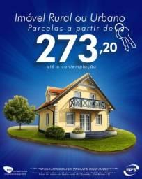 REALIZE O SONHO DA CASA PRÓPRIA PAGANDO PARCELAS DE 273 REAIS/MÊS