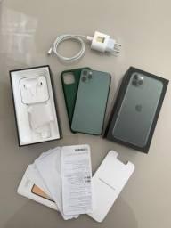 IPhone 11 Pro Max Verde Meia Noite 512GB PERFEITO ESTADO