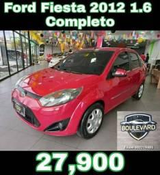 _ FORD FIESTA 2012 1.6 COMPLETO! APROVEITE!