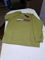 Camisa manga longa de moletom da Tommy Hilfiger G