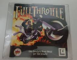 Jogo Full Throttle para PC original
