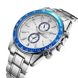 Relógio Curren 8010 Masculino Original À Prova d'agua Garantia
