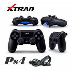Controle Ps4 Sem Fio Bluetooth Wireless Xtrad