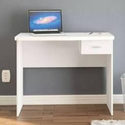 Escrivaninha com uma gaveta, branca