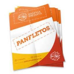 Panfletos em Promoção