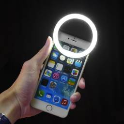 Luz Selfie Clipe Ring Light Portátil