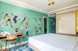 Suíte privativa Standard no Hotel Selina Lapa Rio