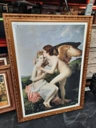Quadro Cupido and Psique R$ 300,00