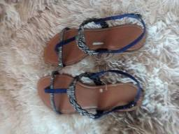 Sandália rasteira Rosamango